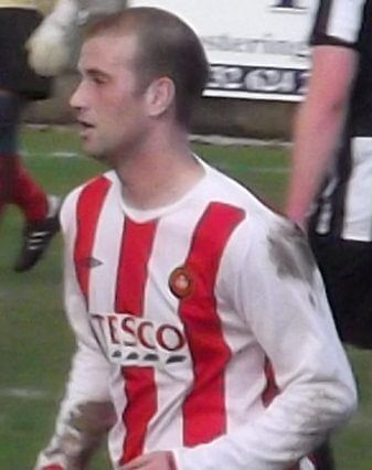 Larkhall Thistle striker Ross McGeachie