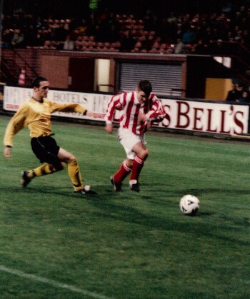 Sectional League Cup Final 2nd October 2001 Larkhall Thistle v Bellshill Athletic 1
