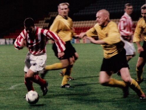 Sectional League Cup Final 2nd October 2001 Larkhall Thistle v Bellshill Athletic 2
