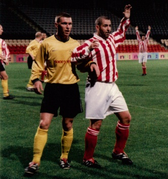 Sectional League Cup Final 2nd October 2001 Larkhall Thistle v Bellshill Athletic 3