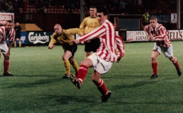 Sectional League Cup Final 2nd October 2001 Larkhall Thistle v Bellshill Athletic 5