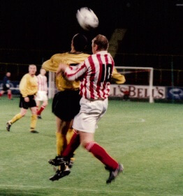 Sectional League Cup Final 2nd October 2001 Larkhall Thistle v Bellshill Athletic 6