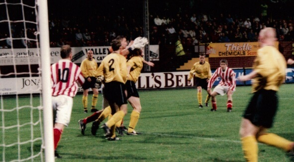 Sectional League Cup Final 2nd October 2001 Larkhall Thistle v Bellshill Athletic 7