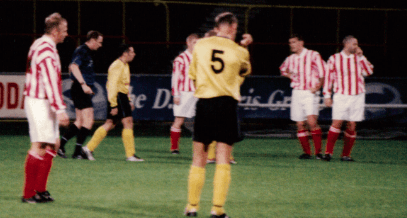 Sectional League Cup Final 2nd October 2001 Larkhall Thistle v Bellshill Athletic 8