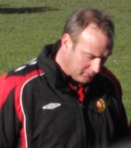 "Larkhall Thistle manager Duncan ""Dunky"" Sinclair"