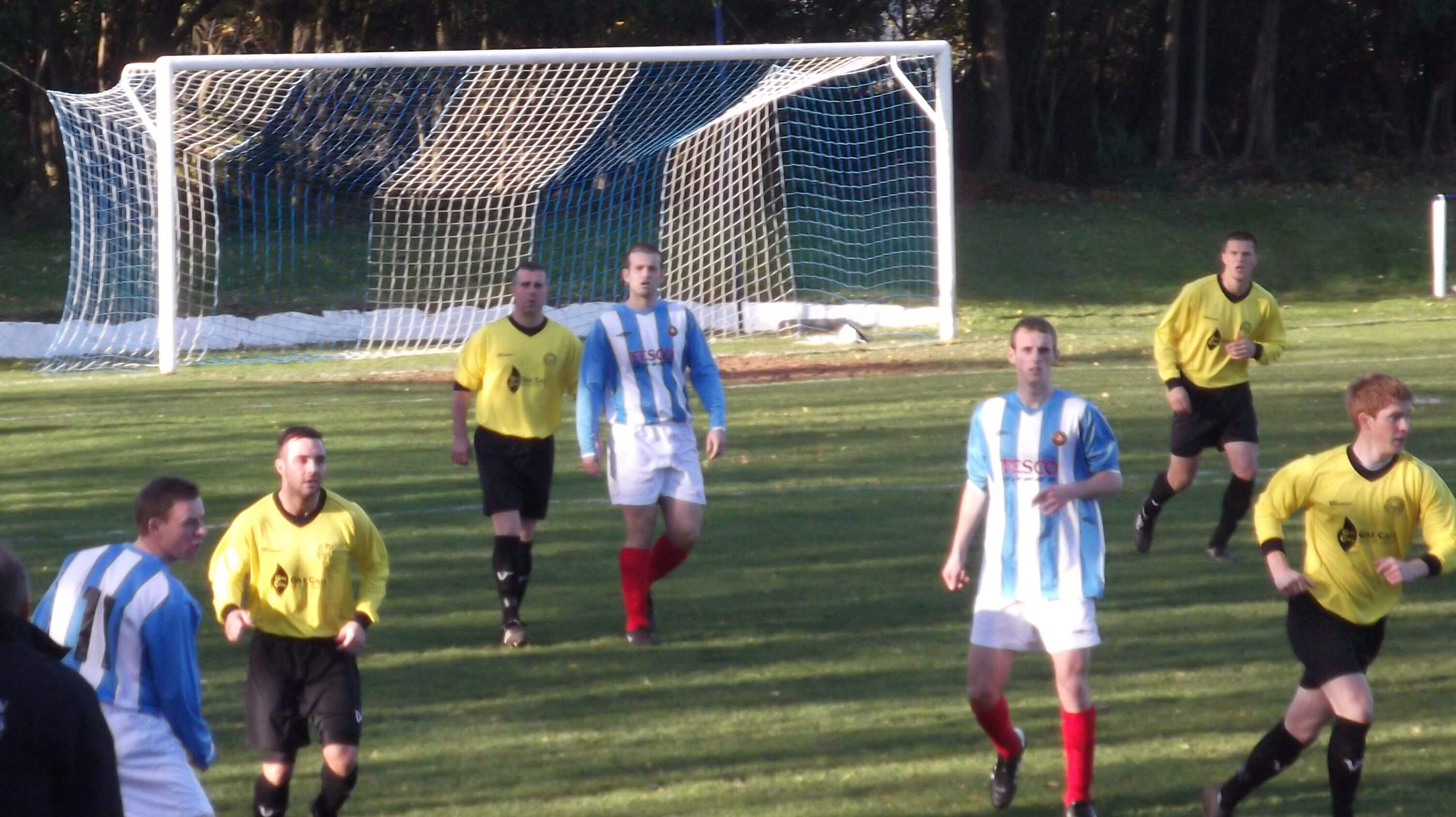 Bellshill v Larkhall Thistle first half action