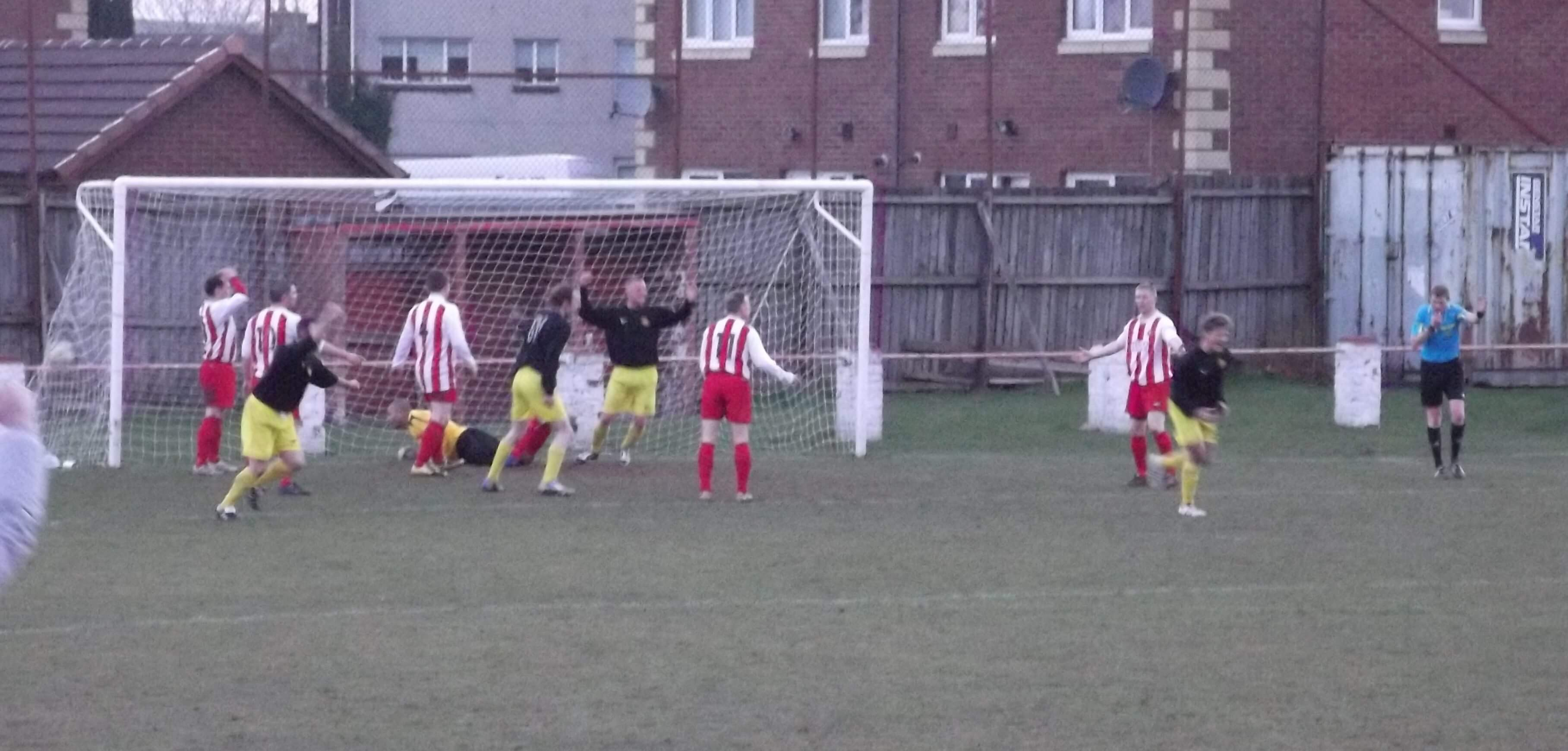 Bellshill's second goal