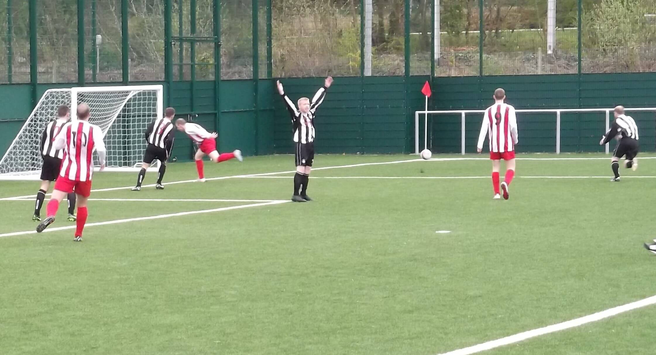 Port Glasgow claim in the run up to the third goal