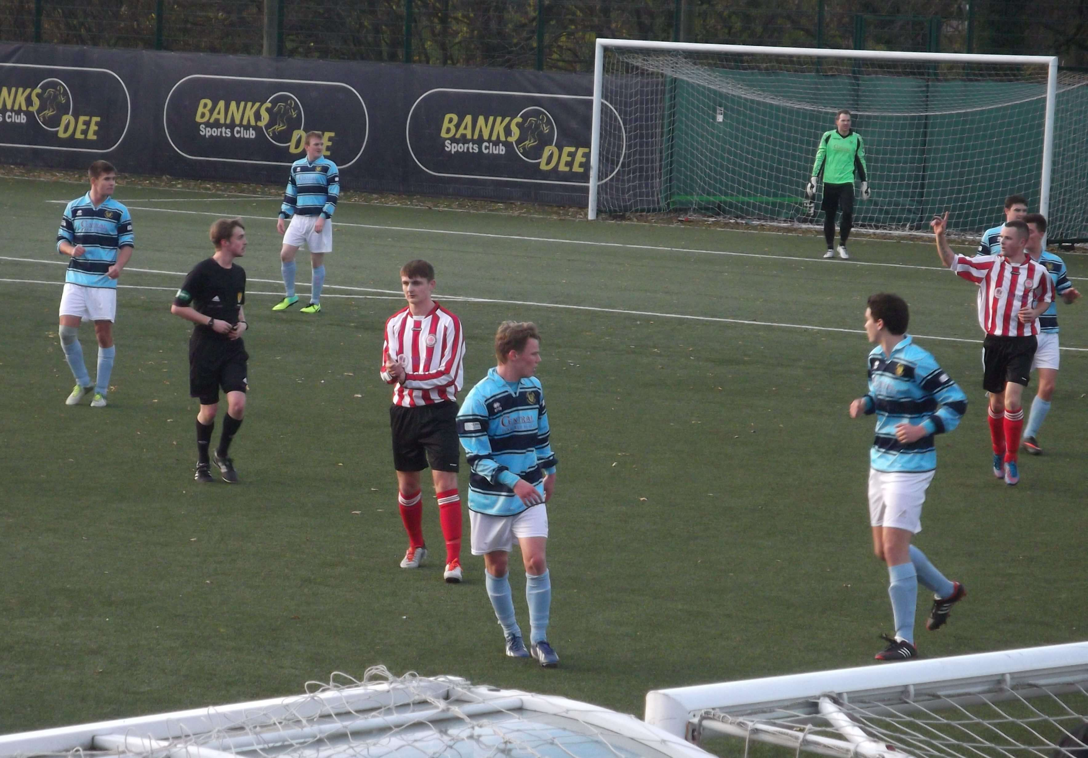 Banks o' Dee v Larkhall Thistle, Scottish Cup Third Round 23rd November 2013