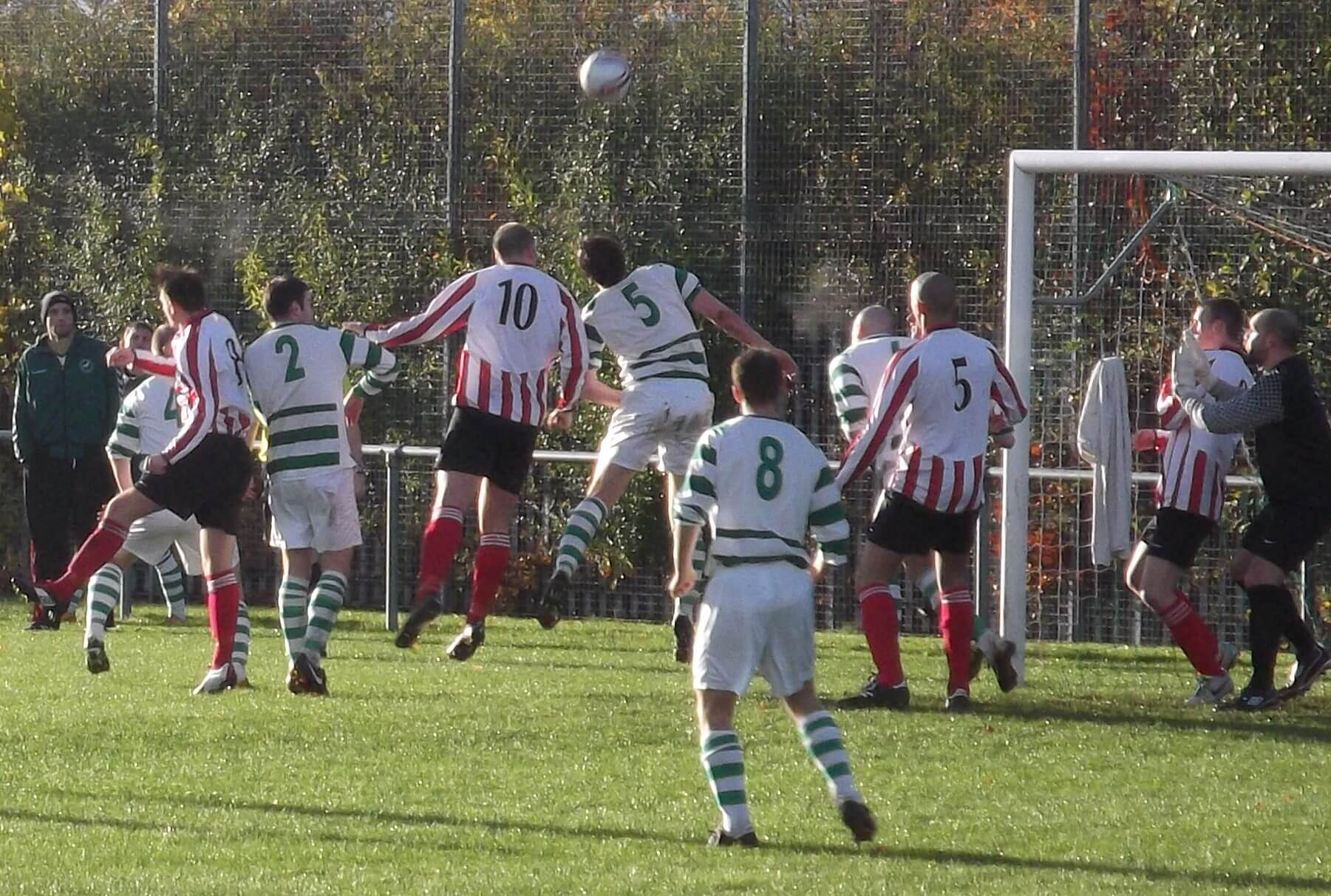 Ross McGeachie first half header