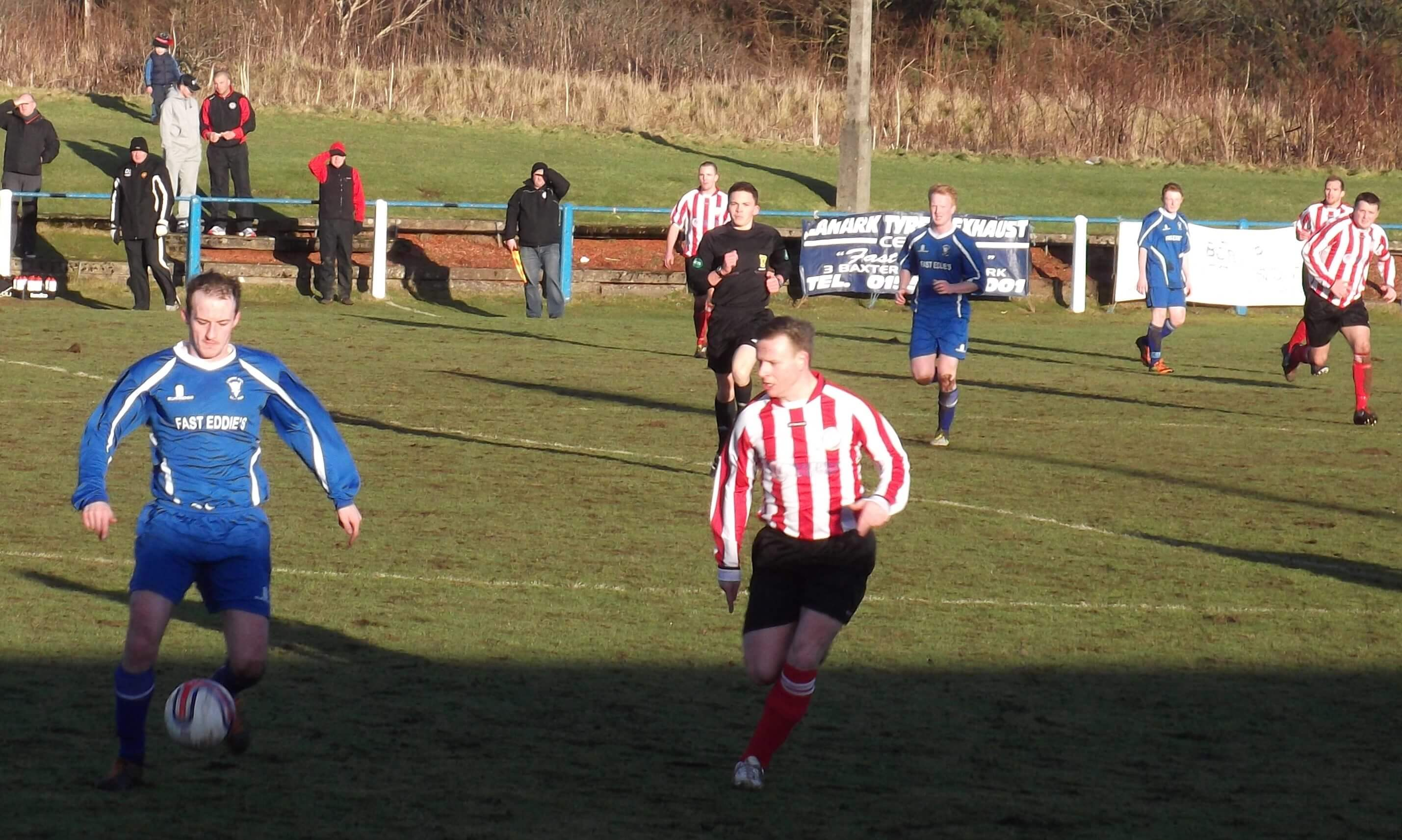 Lanark United v Larkhall Thistle 11th January, 2014