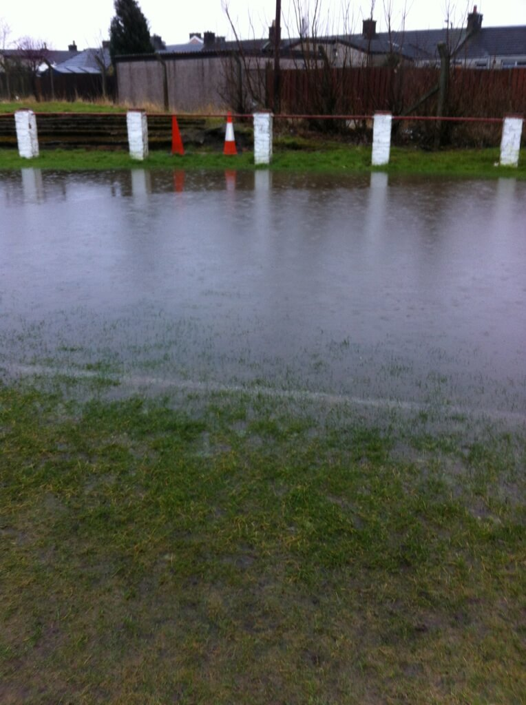 Thistle park flooded 15-02-14