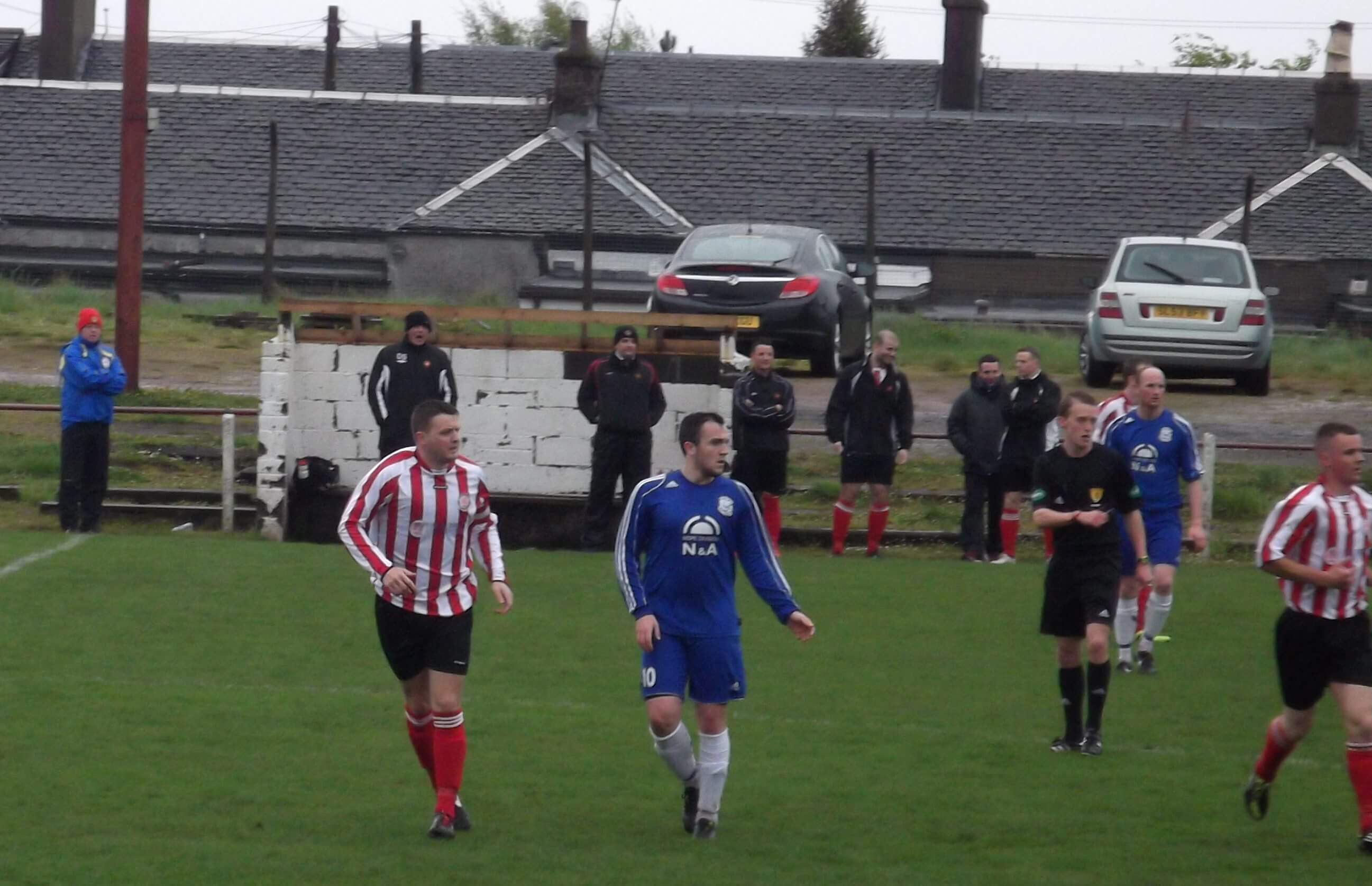 Benburb v Larkhall Thistle 17-05-2014
