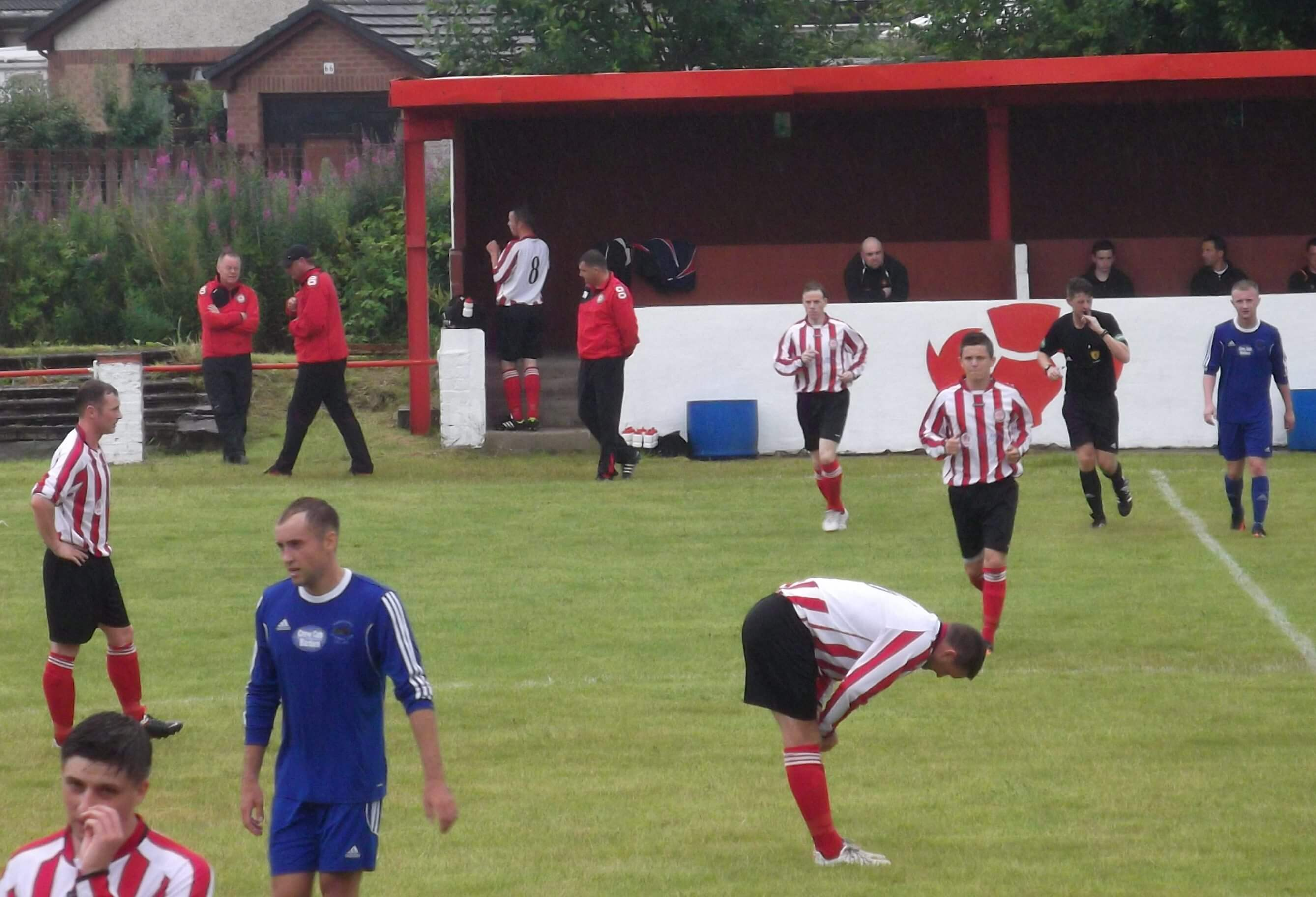 Larkhall Thistle v Abbey Vale 19th July 2014