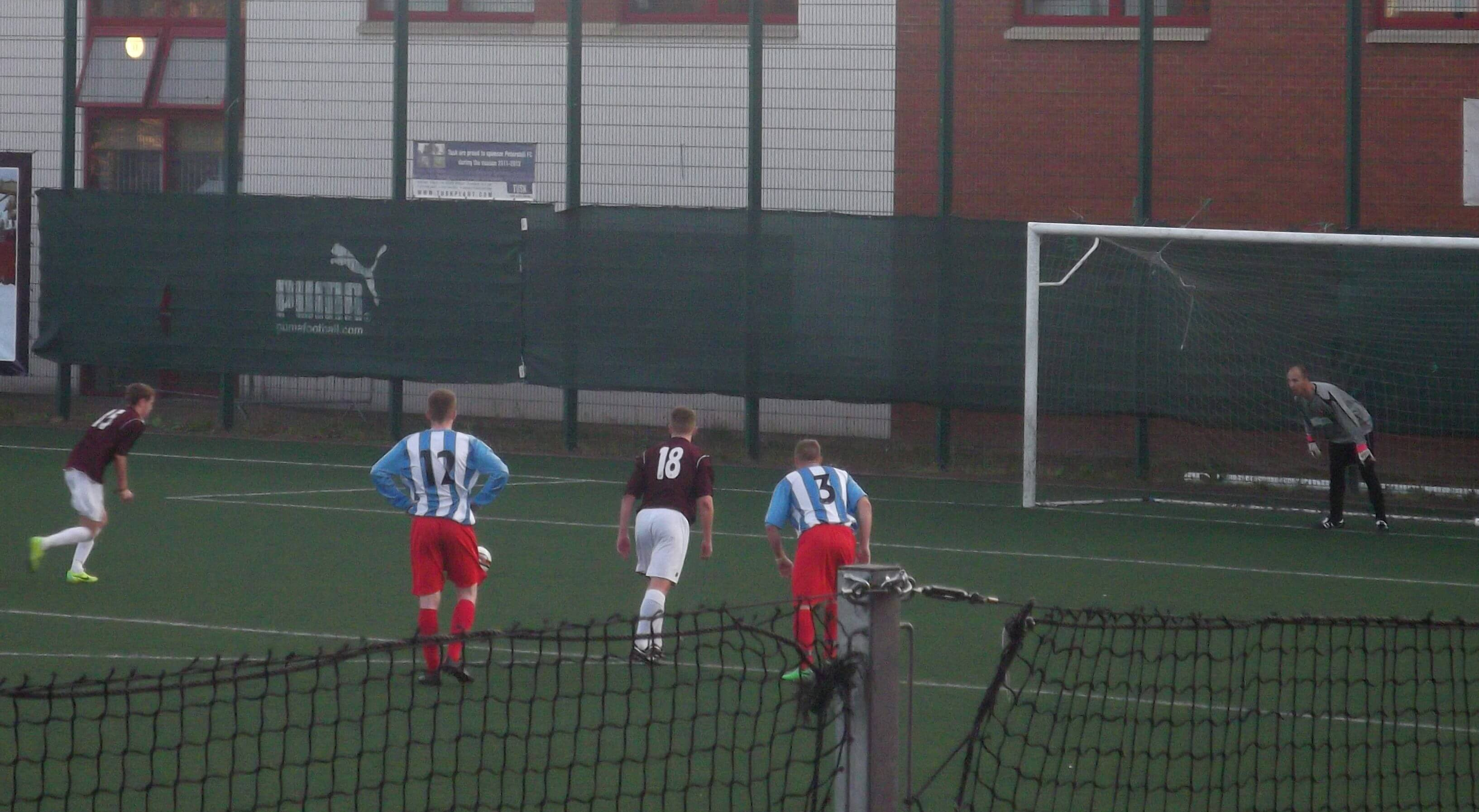 Petershill v Larkhall Thistle 1 - penalty 2