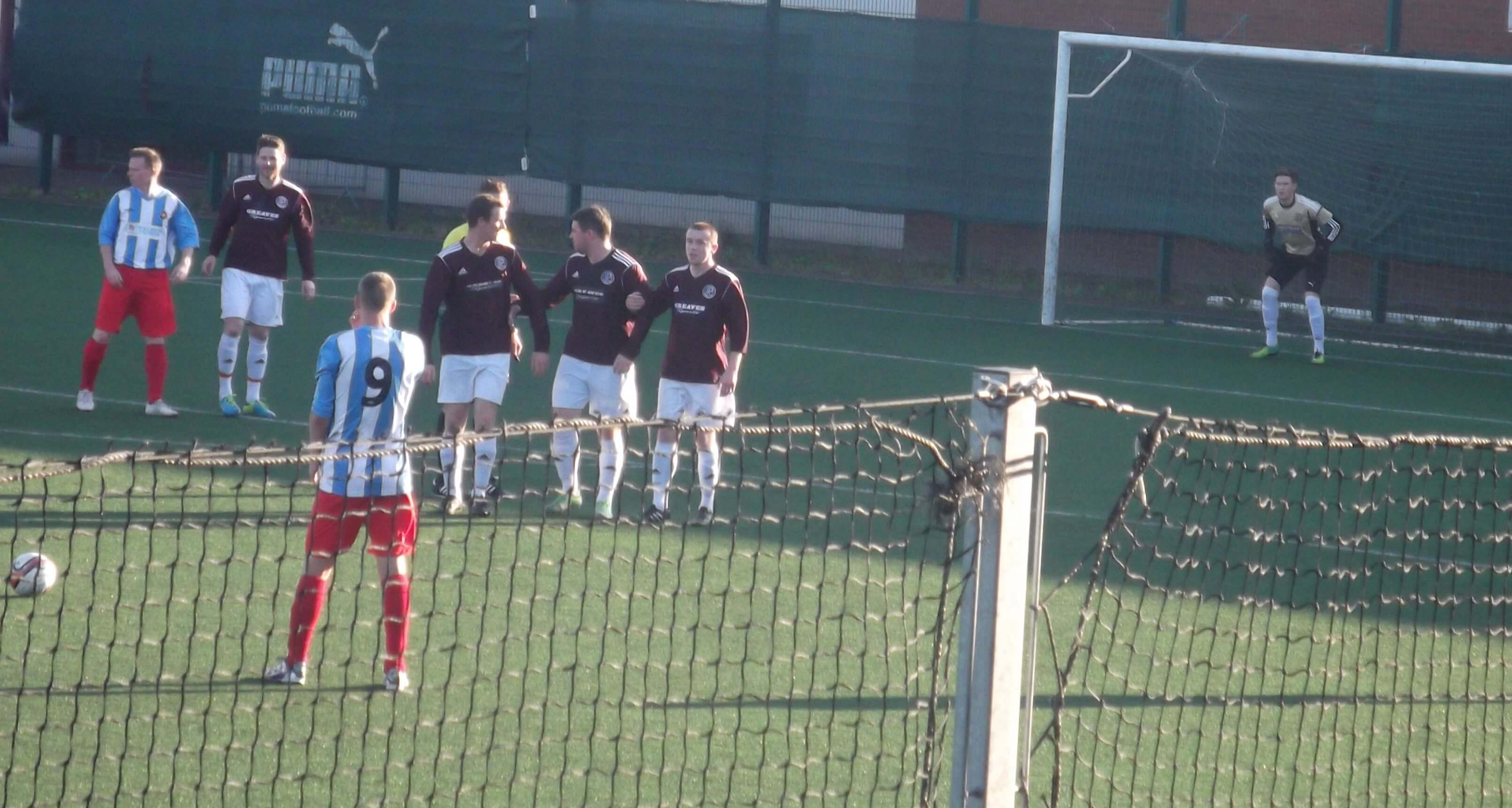 Petershill v Larkhall Thistle 2