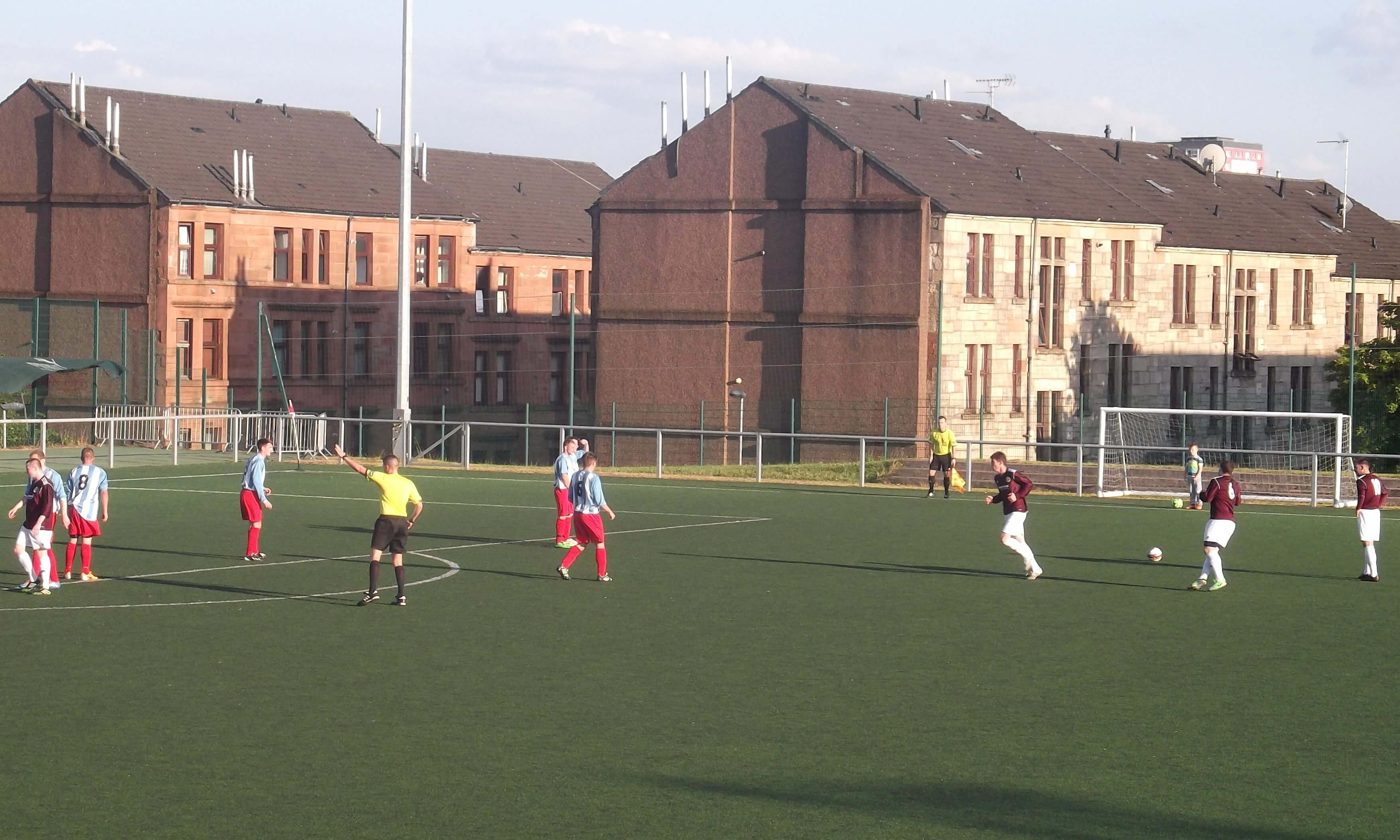 Petershill v Larkhall Thistle 3