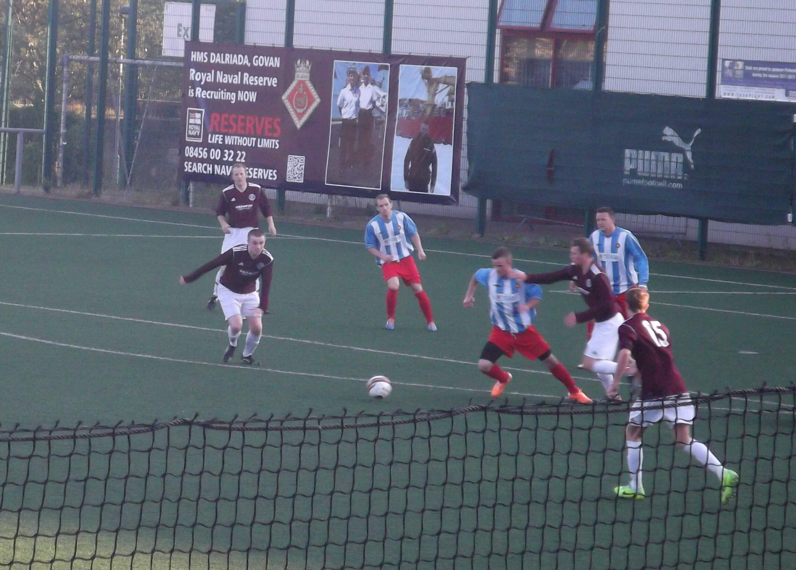 Petershill v Larkhall Thistle 23rd July 2014