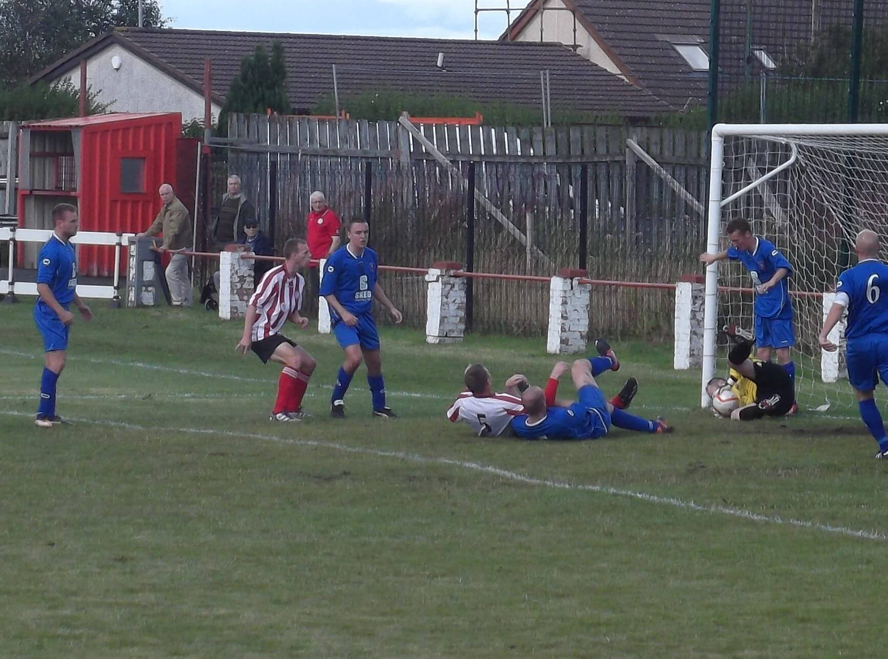 Barnes saves on the line