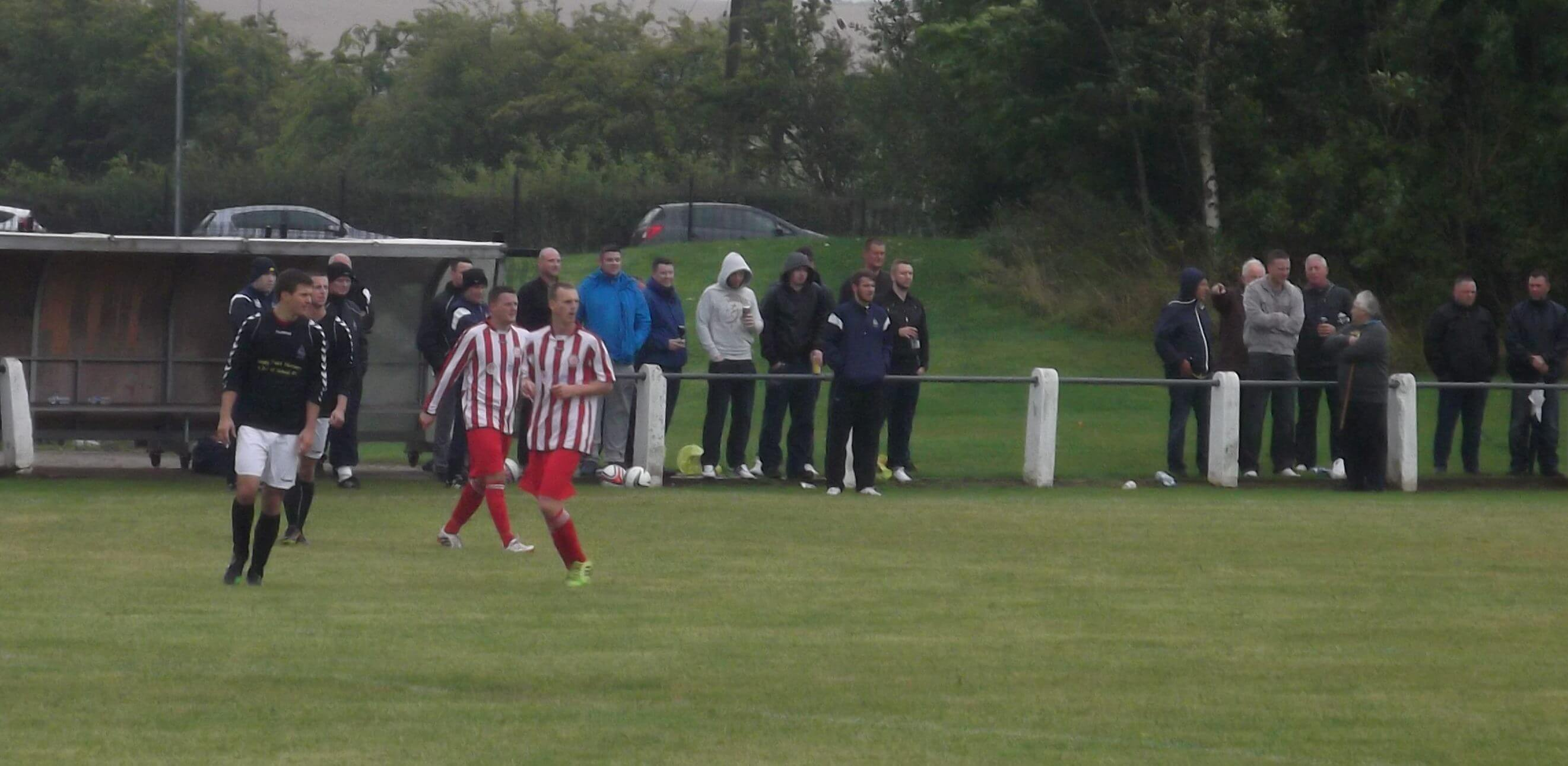 Royal Albert 0 Larkhall Thistle 2 Sectional League Cup 16th August 2014