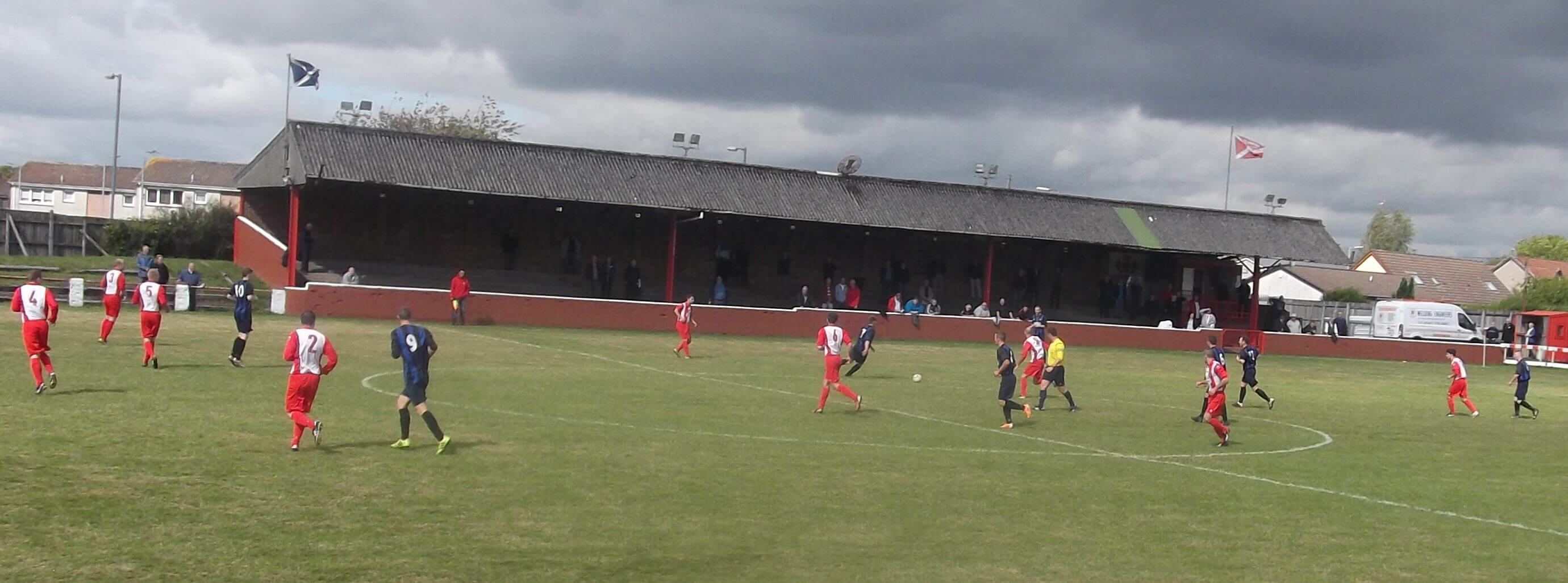 Larkhall Thistle v Renfrew 30-08-2014
