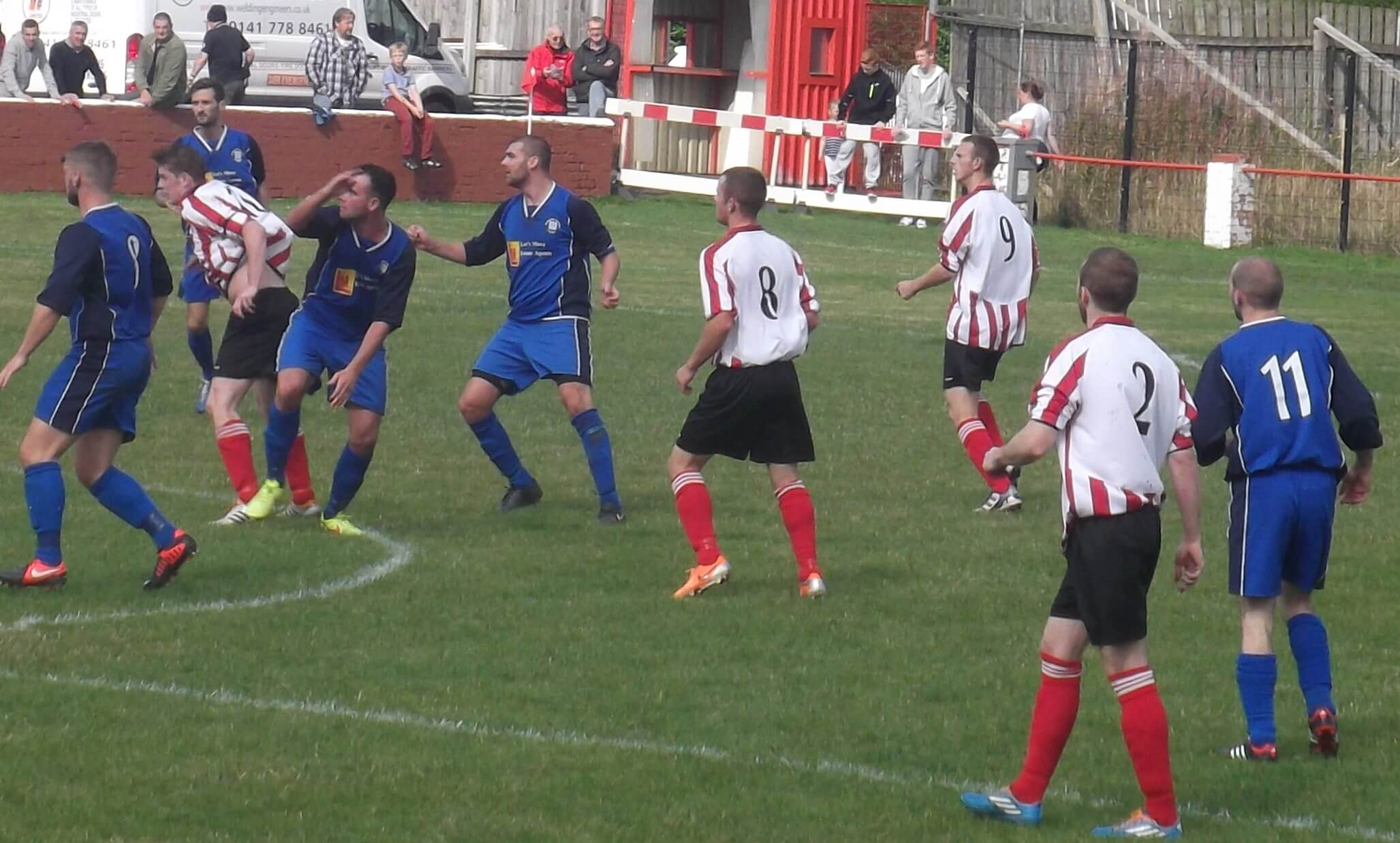 Larkhall Thistle v Blantyre Victoria 6th September 2014