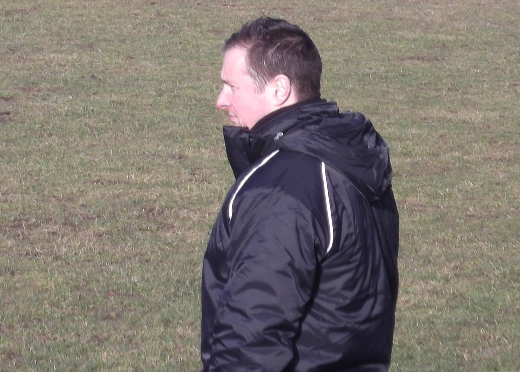 Bellshill manager Brian McGinty
