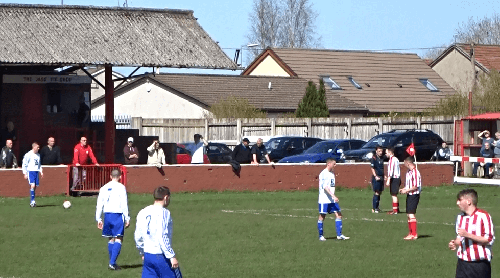 Vale of Clyde free kick