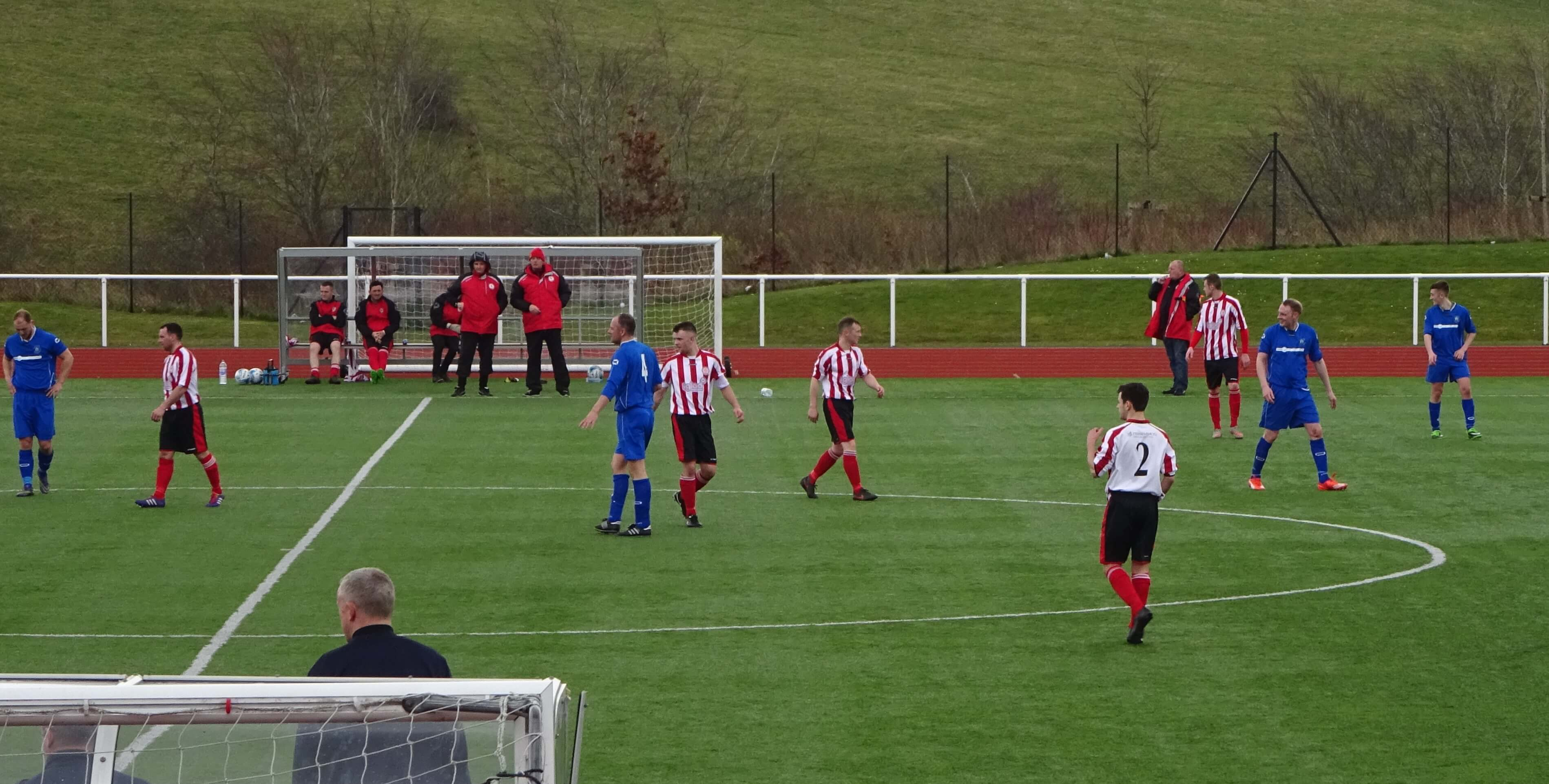 Carluke Rovers v Larkhall Thistle 2 April 2016 - summary