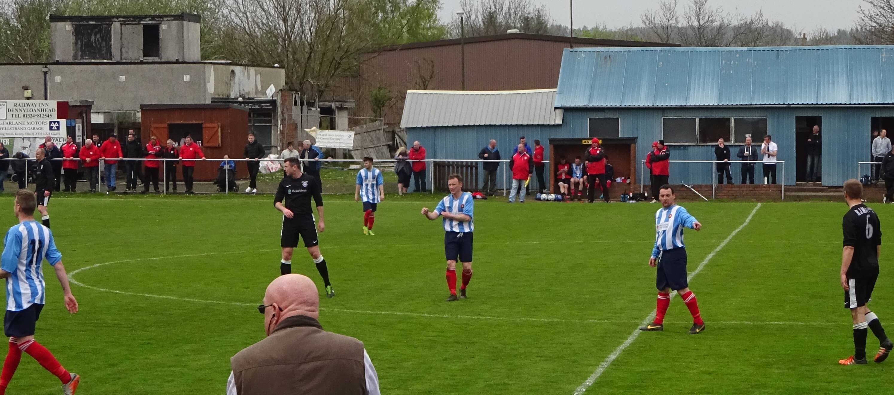 Dunipace v Larkhall Thistle 7th May 2016 -1