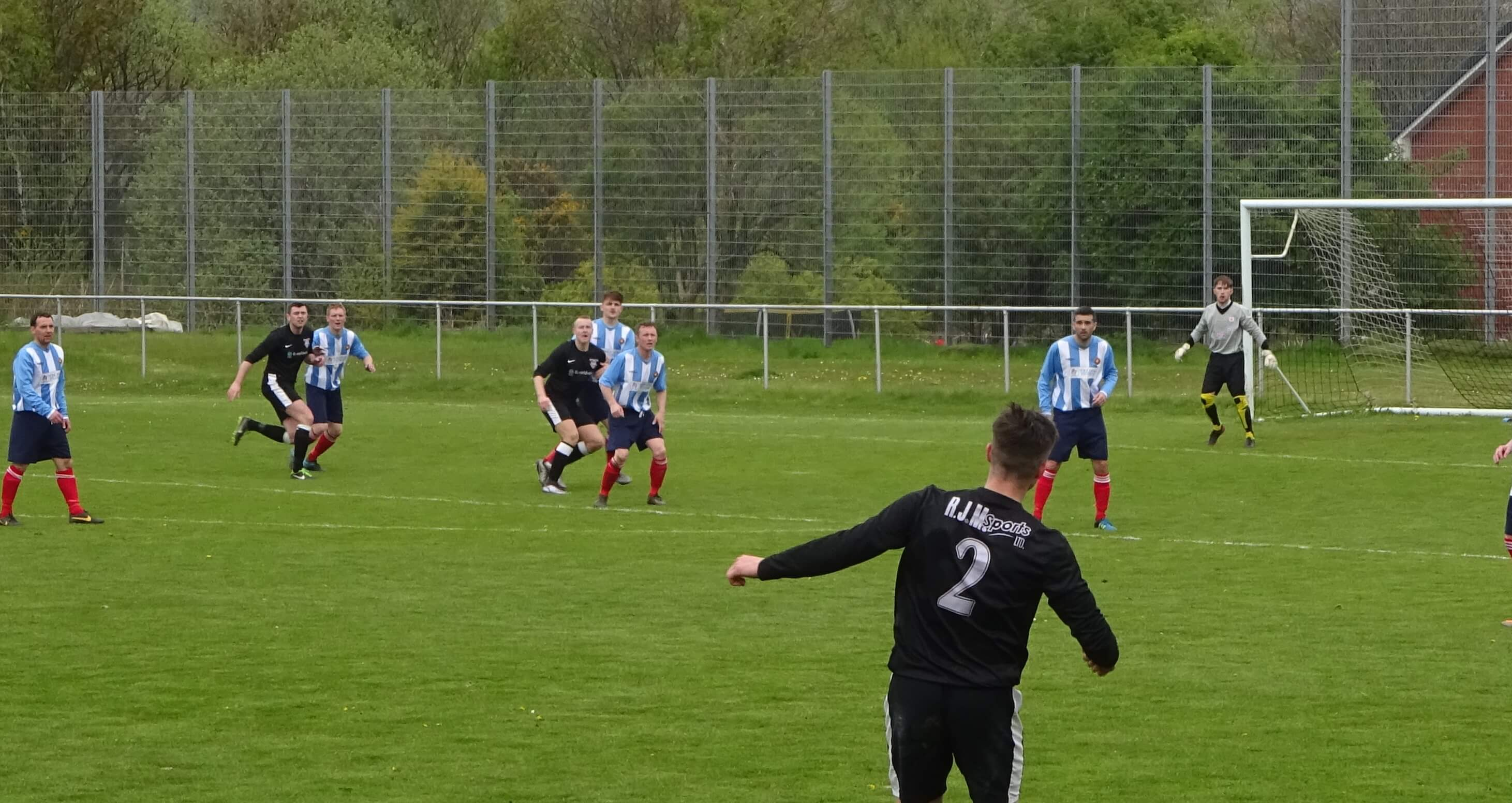 Dunipace v Larkhall Thistle 7th May 2016 -2