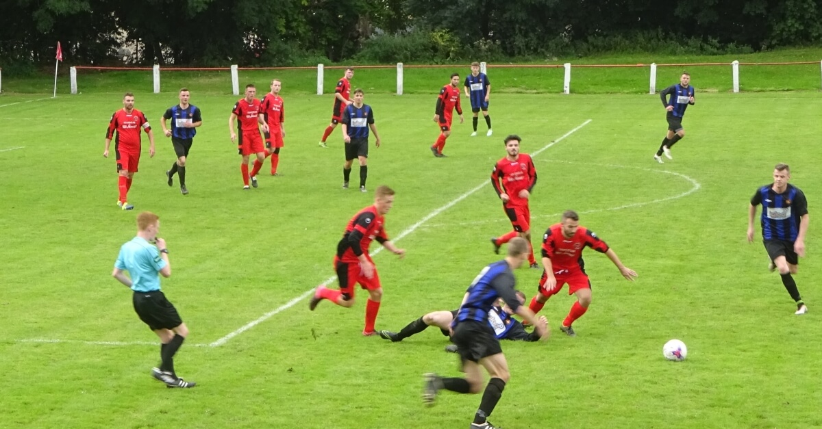 Thorniewood United v Larkhall Thistle 3